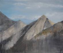Altitude - Huile sur toile - 55x46 cm - 2011