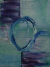 Anneau - Huile sur toile - 30x40 cm - 2009
