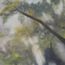 Arborescence - Huile sur toile - 40x40 cm - 2011