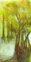 Arbre 1 - Huile sur toile - 30x60 cm - 2008