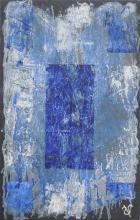 Ardoise 1 - Huile sur ardoise - 24x32 cm - 2012