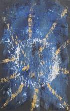 Ardoise 2 - Huile sur ardoise - 24x32 cm - 2012