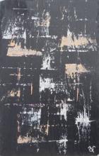Ardoise 10 - Huile sur ardoise - 24x32 cm - 2012