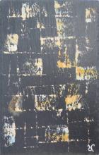 Ardoise 15 - Huile sur ardoise - 24x32 cm - 2012