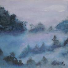 Atmosphere - Huile sur toile - 40x40 cm - 2011
