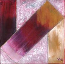 Au-delà 1 - Huile sur toile - 20x20 cm - 2007