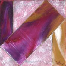 Au-delà 2 - Huile sur toile - 20x20 cm - 2007