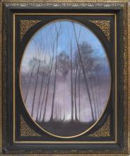 Clair de Lune - Technique mixte Flash et Encre sur toile - 75 x 90 cm (avec cadre) - 2014