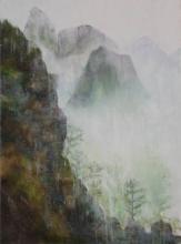 Côté caché - Huile sur toile - 60x81 cm - 2009