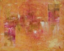 Couleurs de flamme - Huile sur toile - 41x33 cm - 2011