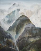 Deux Pics - Huile sur toile - 73x92 cm - 2013