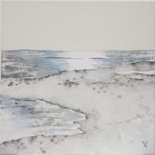 Balade à l'Ile Madame 2 - Flash sur toile - 40 x 40 cm