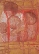 Arbres à Bulles - Flash et Collages sur Bois - 23 x 32 cm