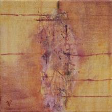 Empreinte - Huile sur toile - 30x30 cm - 2012