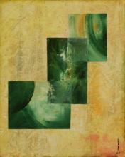 Flux - Huile sur toile - 33x41 cm - 2007