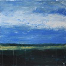 Horizon4 - Flash sur toile - 30 x 30 cm