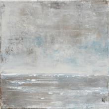 Horizon6 - Flash sur toile - 20 x 20 cm