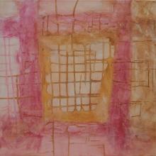 Labyrinthe 1 -  Flash sur toile - 50 x 50 cm - 2014