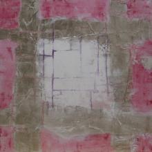 Labyrinthe 2 -  Flash sur toile - 50 x 50 cm - 2014