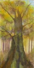 Le Flamboyant - Huile sur toile - 30x60 cm - 2007