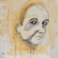 Monsieur_Jo - Flash et Encre sur toile - 40 x 40 cm
