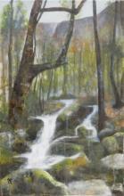 Pour Catherine - Huile sur toile - 31x68 cm - 2012