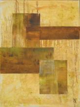 Quatuor - Huile sur toile - 30x40 cm - 2012