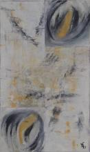 Regard - Huile sur toile - 30x50cm - 2011
