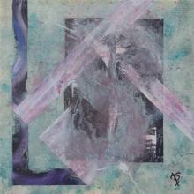 S2 - Huile sur toile - 30x30 cm - 2010