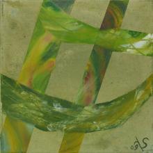 Sillons - Huile sur toile - 30x30 cm - 2009