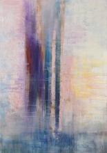 Soleil Rose - Flash sur toile - 65 x 92 cm