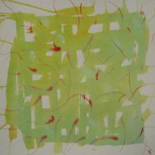 Soundpainting 2 - Encre sur papier aquarelle - 40x40 cm - 2012
