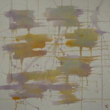 Soundpainting 3 - Encre sur papier aquarelle - 40x40 cm - 2012