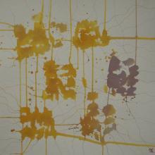 Soundpainting 5 - Encre sur papier aquarelle - 40x40 cm - 2012