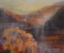 Vallées - Huile sur toile - 46x38 cm - 2012