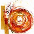 Monotype - Huile sur canson - 10x15cm