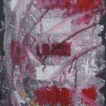Ardoise 3 - Huile sur ardoise - 24x32 cm - 2012