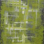 Ardoise 6 - Huile sur ardoise - 24x32 cm - 2012