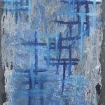 Ardoise 7 - Huile sur ardoise - 24x32 cm - 2012