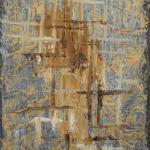 Ardoise 8 - Huile sur ardoise - 24x32 cm - 2012