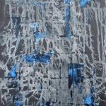 Ardoise 9 - Huile sur ardoise - 24x32 cm - 2012