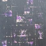 Ardoise 12 - Huile sur ardoise - 24x32 cm - 2012