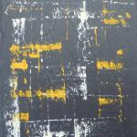 Ardoise 13 - Huile sur ardoise - 24x32 cm - 2012