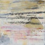 Mélodie2 - Flash sur toile - 20 x 20 cm