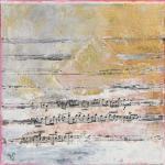 Mélodie3 - Flash sur toile - 20 x 20 cm