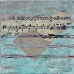 Mélodie4 - Flash sur toile - 20 x 20 cm