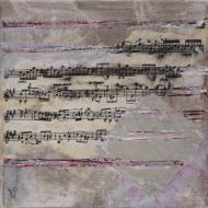 Mélodie5 - Flash sur toile - 20 x 20 cm
